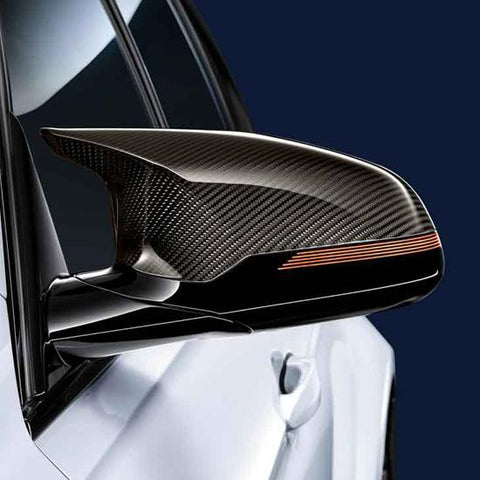 OEM BMW M Performance Carbon Fiber Mirror Caps