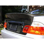 BMW E46 3-SERIES CSL STYLE FRP / CARBON FIBER TRUNK