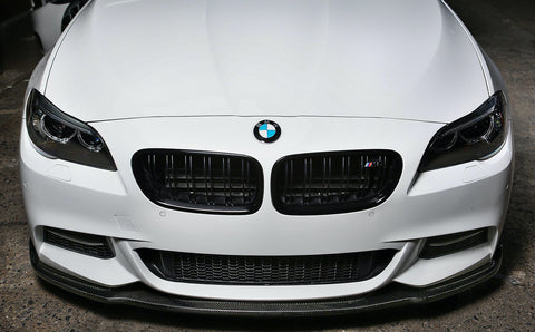 BMW F10 5-SERIES CARBON FIBER COMPETITION STYLE FRONT LIP