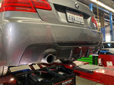 E92 DUAL REAR CARBON DIFFUSER PERF STYLE