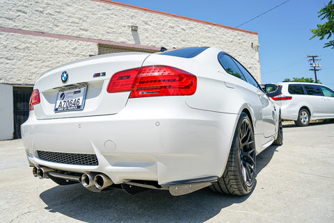 E92 M3 Rear bumper extensions