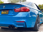 BMW F82 M4 PERFORMANCE STYLE CARBON FIBER TRUNK SPOILER
