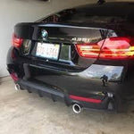 BMW F32/F33 4 SERIES M PERFORMANCE STYLE DIFFUSER
