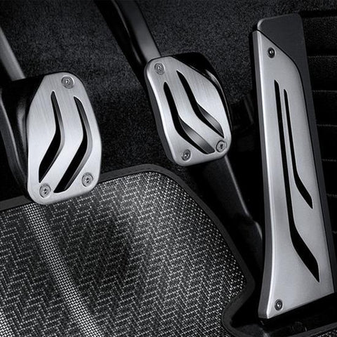 OEM BMW M Performance Stainless Steel Pedal Set