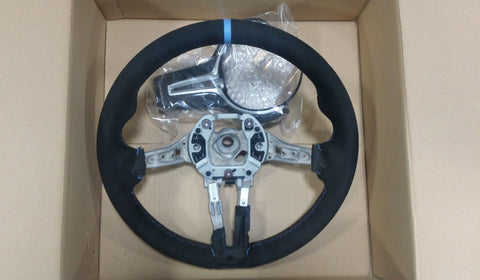 OEM BMW M Performance Steering Wheel - F8X M Vehicles