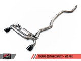 AWE TOURING EDITION AXLE-BACK EXHAUST - F22 M235i / M240i