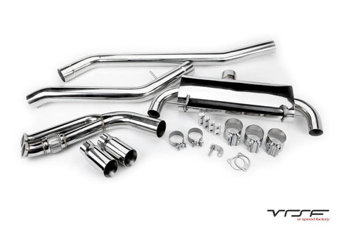 VRSF 3.5″ CATBACK EXHAUST - (07-13) E9X 335i, 335is (N54 / N55)