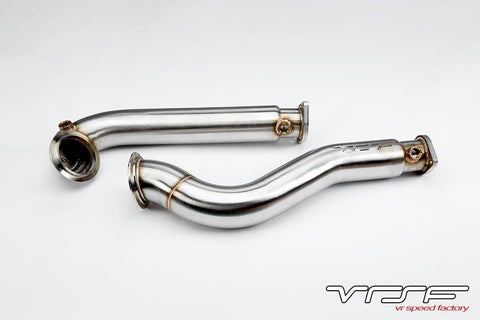 VRSF 3″ STAINLESS STEEL CATLESS DOWNPIPES – F10 5-SERIES | E60 5-SERIES