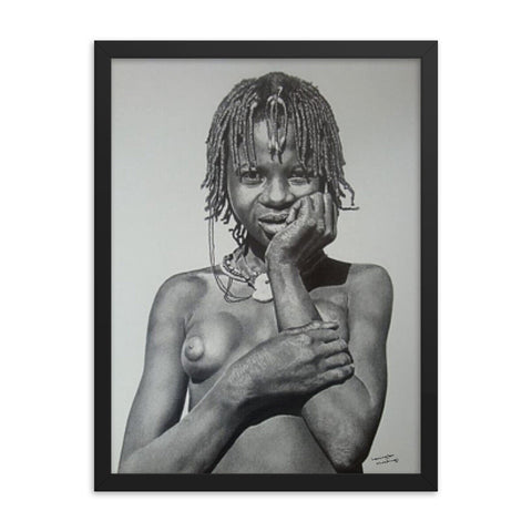 Lemington Muzhingi - Innocence - Framed