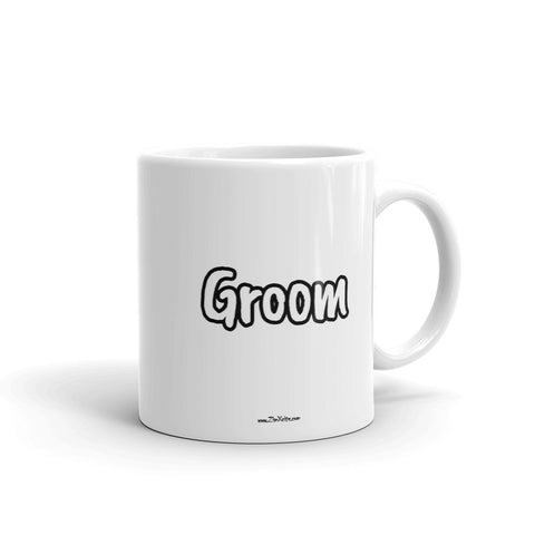 Groom Mug WHITE