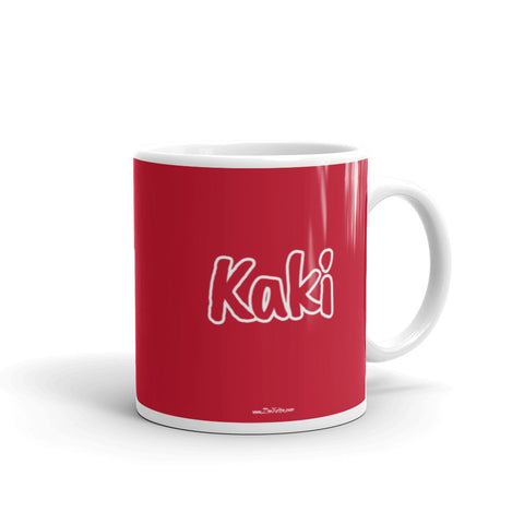 Kaki - Indian Family Mug RED