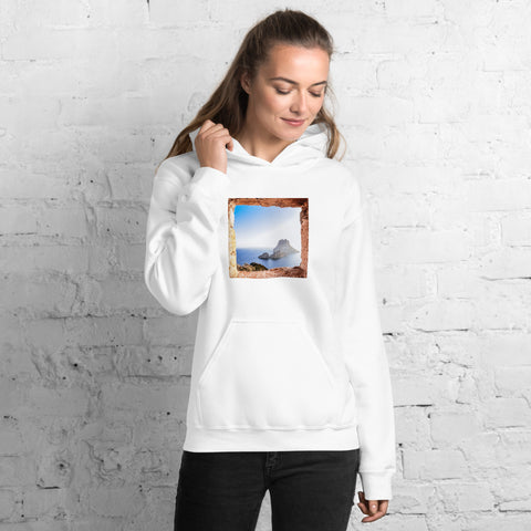 Window To Your Heart - Es Vedra on Unisex Hoodie