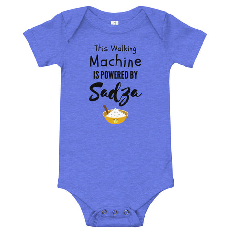 WALK Sadza Machine - Baby Bodysuit - Colours