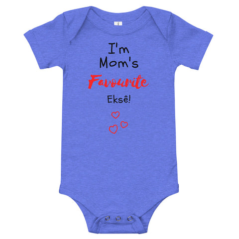 Mom's Fave - Baby Bodysuit - Colours