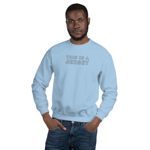 ZimXcite - Unisex Jersey (Sweatshirt) Light Blue/Grey