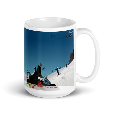 Fernando Invents Socks! - Penguin Shop - 15oz Mug