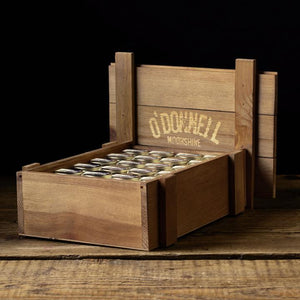 Holzbox Mini Moonshine Jars (24x50ml)