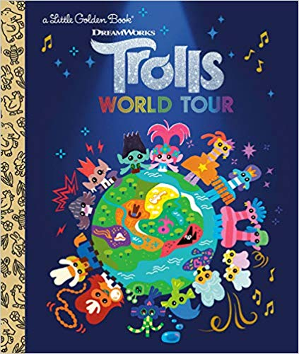Trolls World Tour Little Golden Book