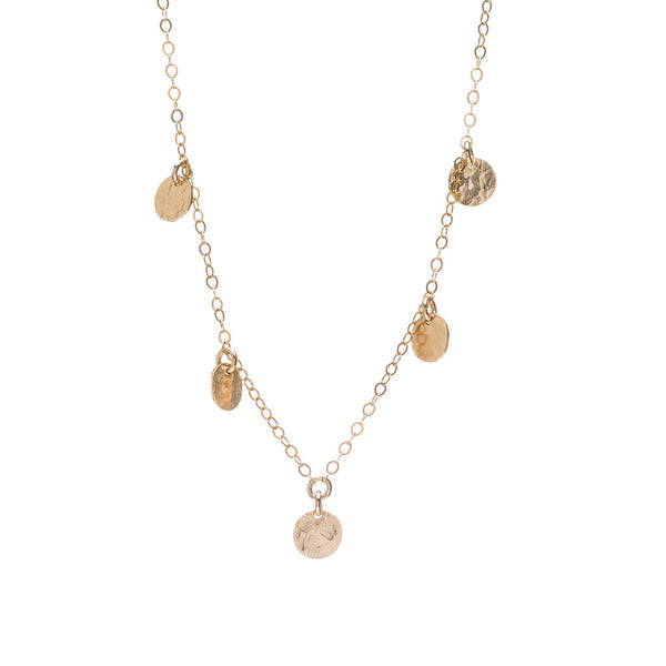 Talia Collection 5 Disc Necklace