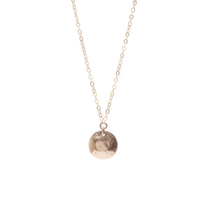 Talia Single Disc Necklace
