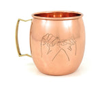 Moscow Mule Copper Mugs Set of 2 - Thewisecopper-gifts for everyone....