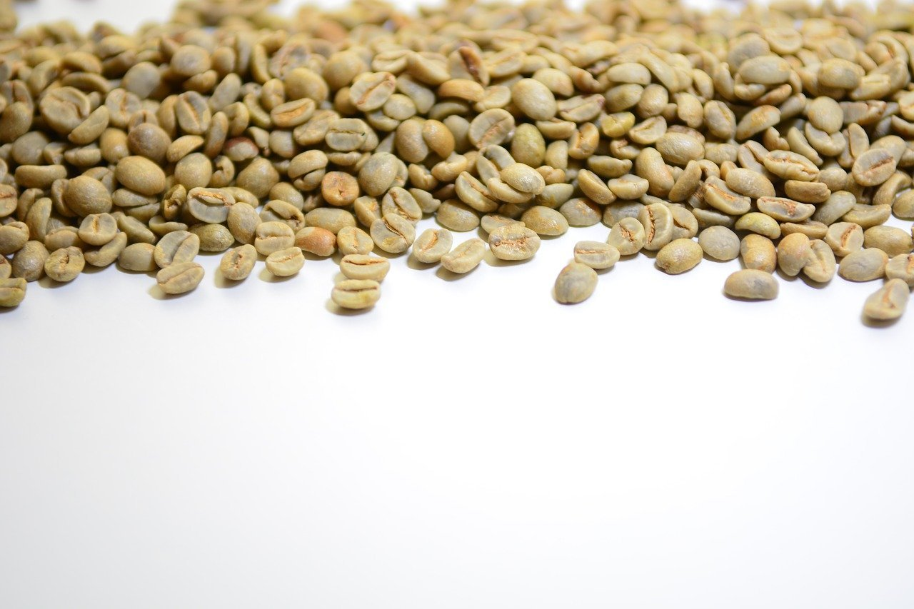 Raw Unprocessed GREEN COFFEE BEANS