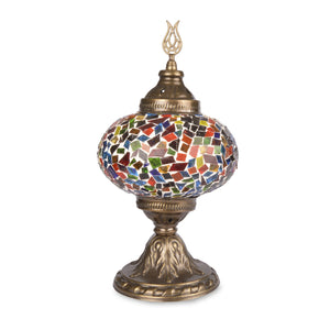 Beautiful Colourful Stained Glass Handmade Turkish Mosaic Lamp