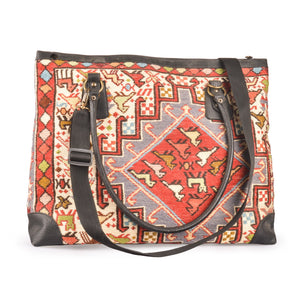 Large Double Strap Kilim Handbag/Tote Bag | 1301
