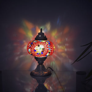 Ottoman traditional lamp | colorful glass lamp
