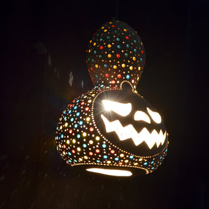 Pumpkin Lamp -Halloween  Natural color | 286