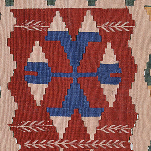 scorpion symbol on Anatolian kilim