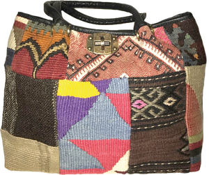 Patchwork Kilim Backpack