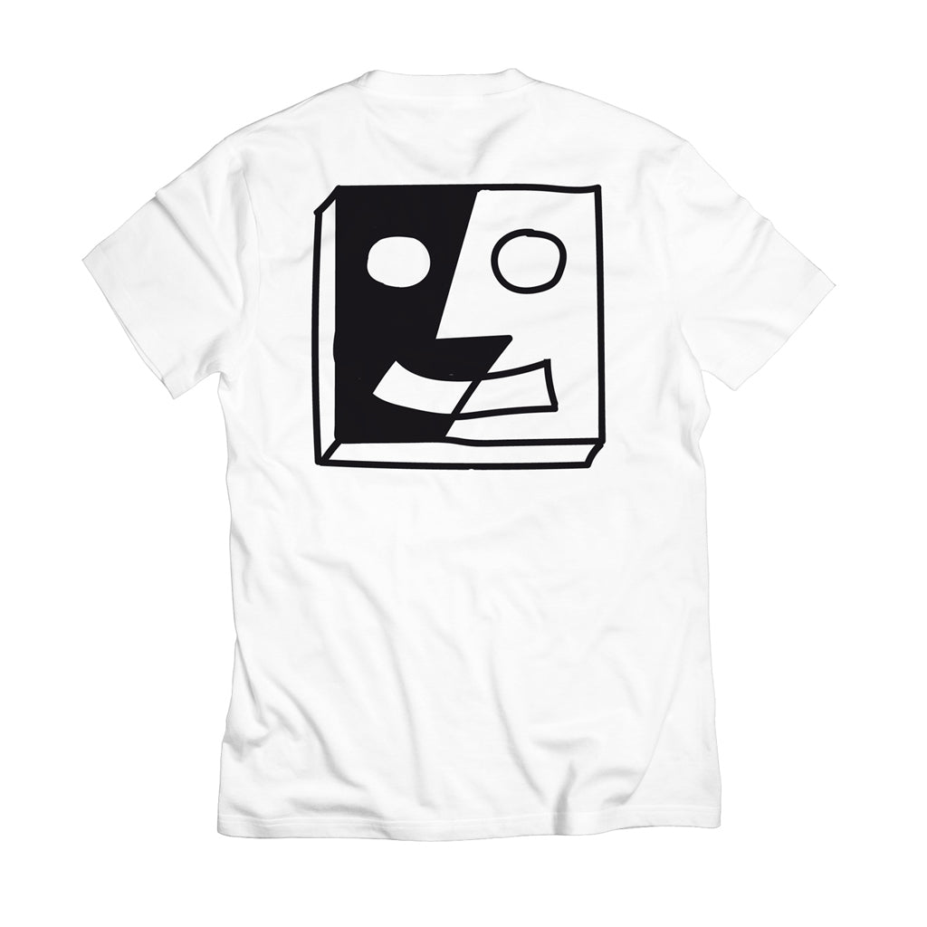Robotron T-Shirt - Split Face white