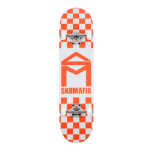 Load image into Gallery viewer, Sk8mafia Complete - House Logo - checker orange - 8.0""
