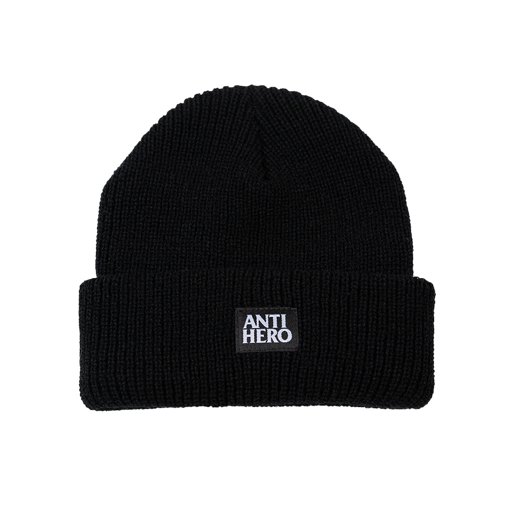 Anti Hero Beanie - Lil Black Hero - black