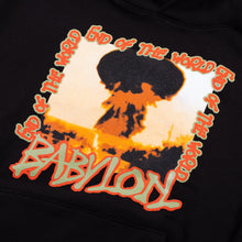 Load image into Gallery viewer, Babylon LA - End of the World Hoodie - black
