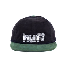 Load image into Gallery viewer, HUF - 6 Panel Cap - Shake - black