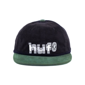 HUF - 6 Panel Cap - Shake - black