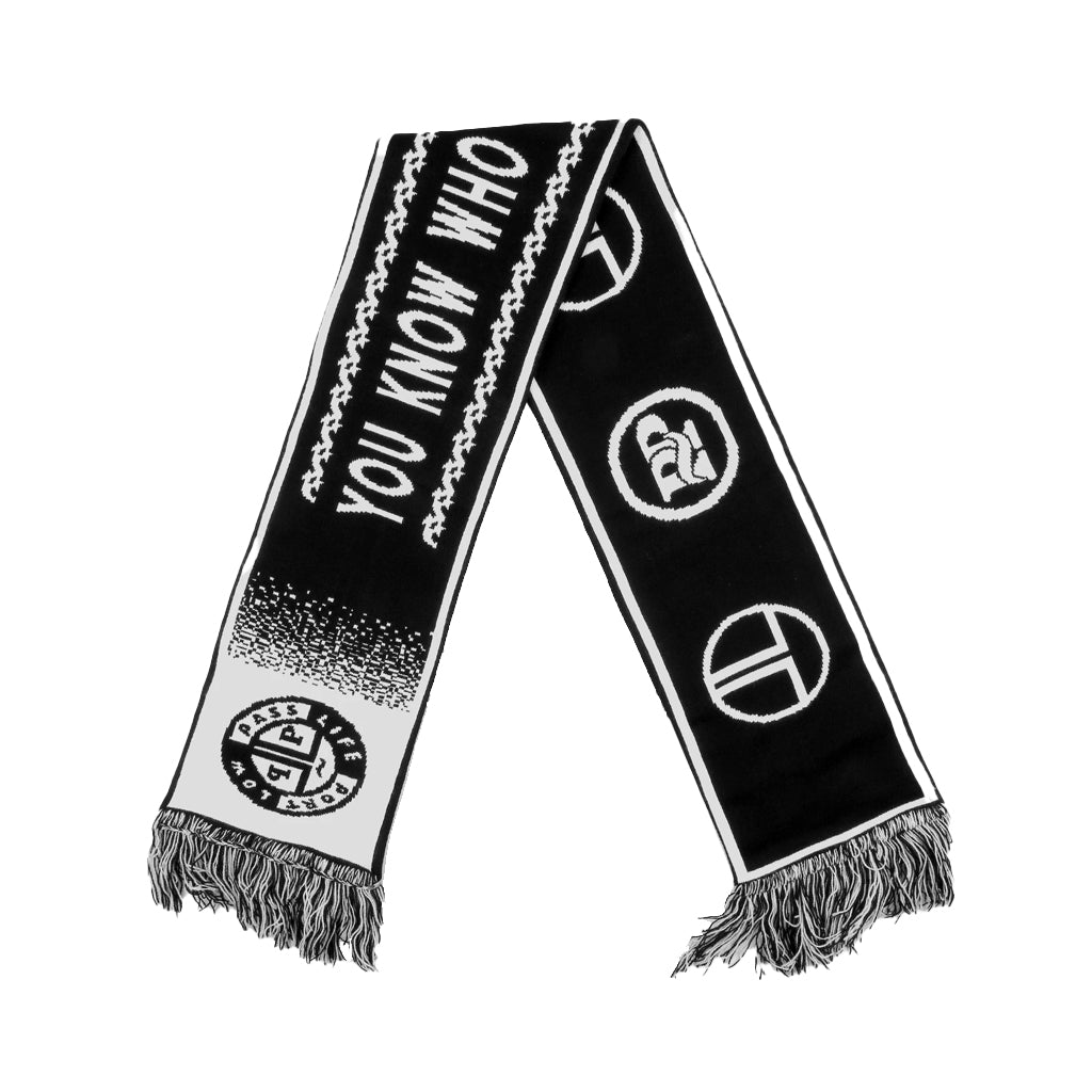 Pass-Port - F.C Scarf - black/white