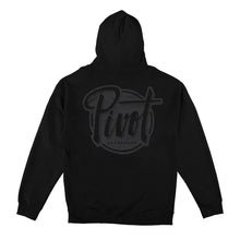 Load image into Gallery viewer, Pivot - Hooded - Logo - black