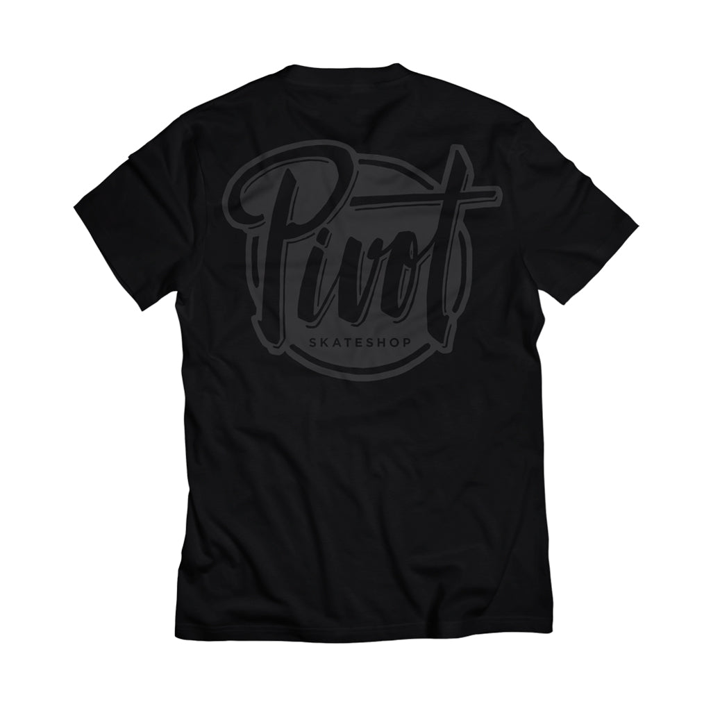 Pivot - T-Shirt - Logo - black