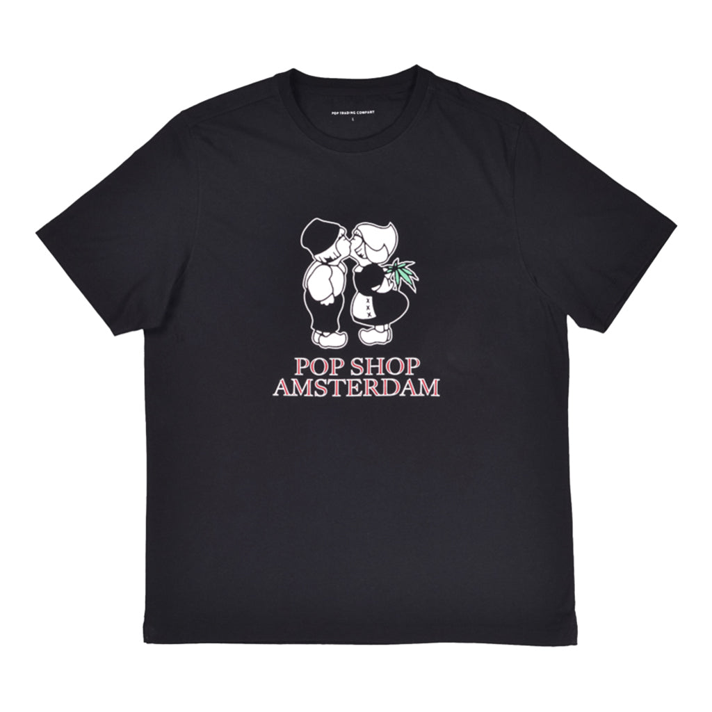 Pop Trading - T-Shirt - Amsterdam - black