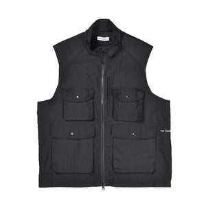 Pop Trading - Vest - Safari - black