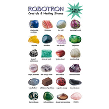 Load image into Gallery viewer, Robotron - Healing Stones - 8.5""