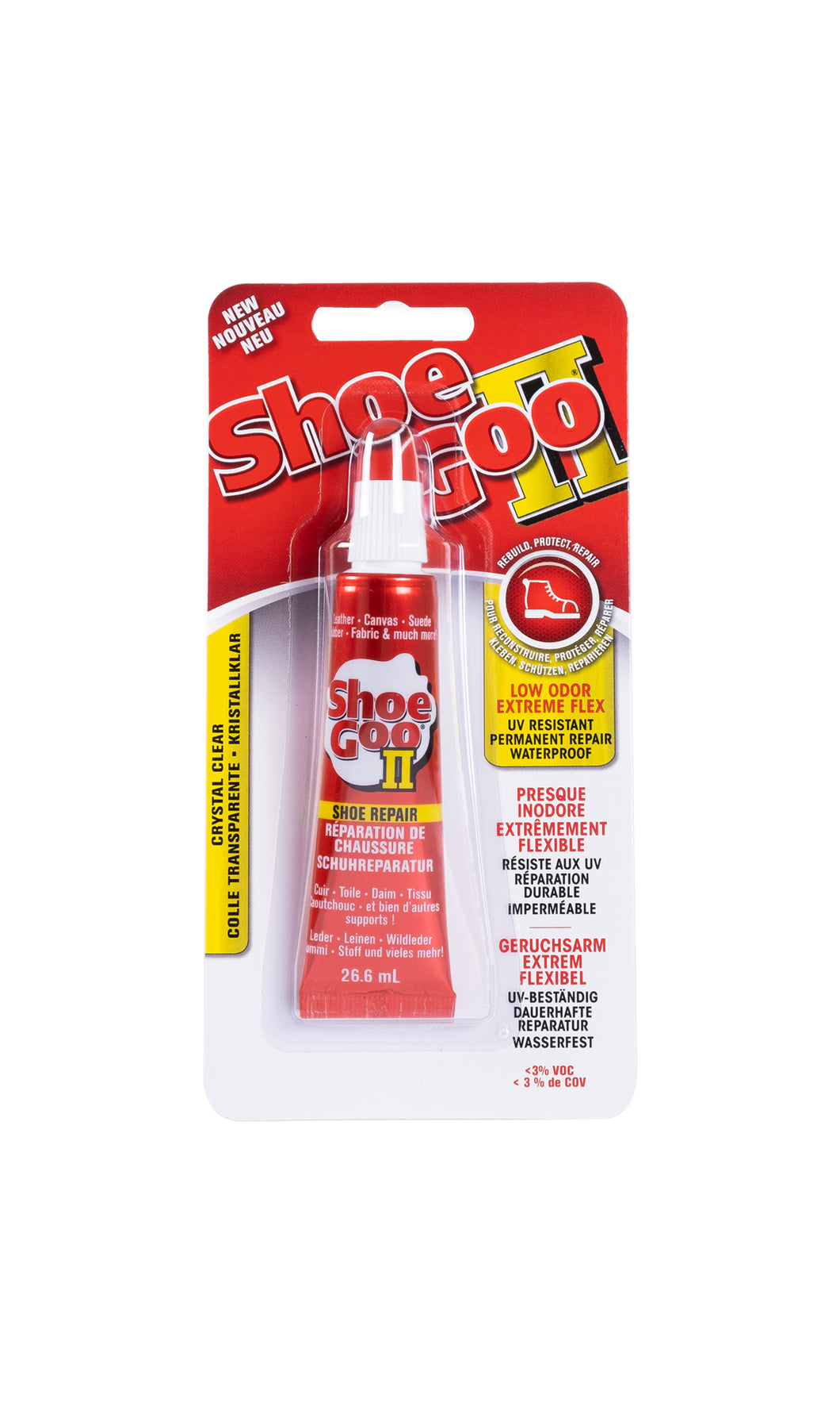 Shoe Goo II - Shoe Repair 26.6ml - clear