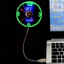 Load image into Gallery viewer, Cooling Clock & Thermal Fan