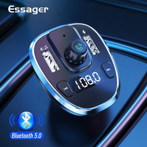Essager USB Car Charger (Bluetooth , FM , MP3 Player )