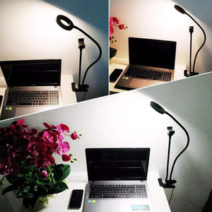 Professional Portable LED Light with Phone Holder™
