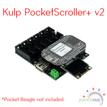 Load image into Gallery viewer, Kulp PocketScroller+ v2 - for Pocket Beagle (PB)