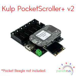 Kulp PocketScroller+ v2 - for Pocket Beagle (PB)
